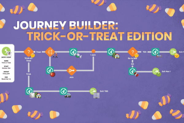 Journey Builder: Trick-or-Treat Edition